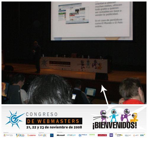 Lona Congreso de Webmasters 2008