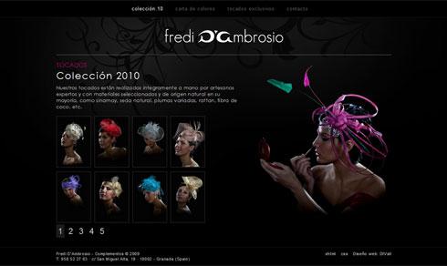 Tocados y Sombreros - Fredi D'Ambrosio