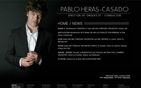 Web Pablo Heras